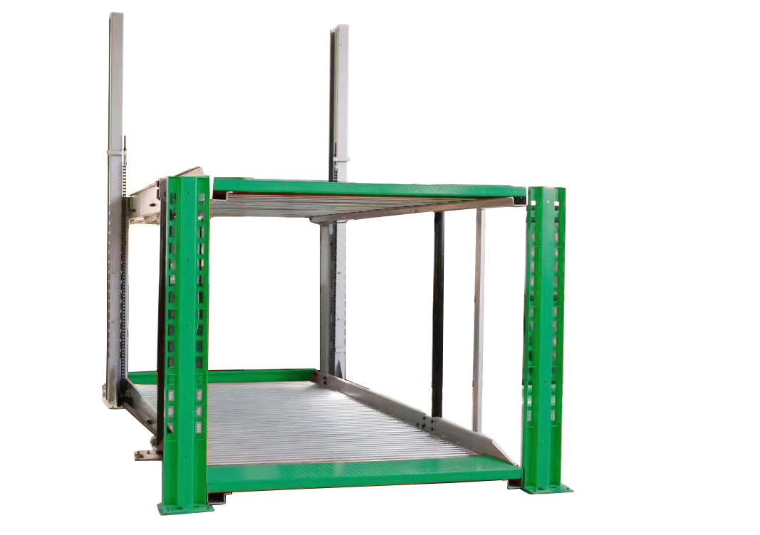 HYDRAULIC 2 POST PIT CAR PARKING SYSTEM (UTS)