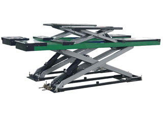 DOUBLE-LEVEL PLATFORM<br />SCISSOR LIFT