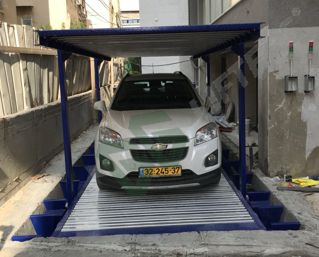 MOTOR DRIVEN PIT CAR PARKING SYSTEM (PDK)
