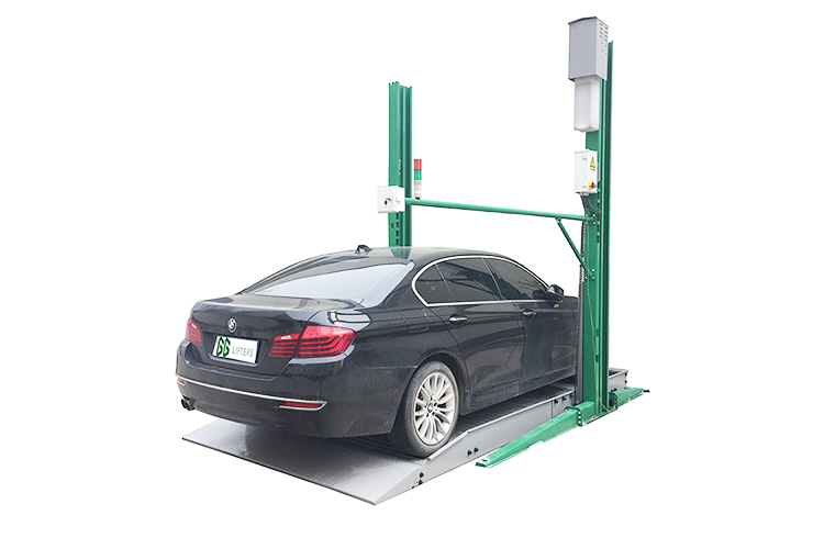 TWO POST CAR PARKING LIFT