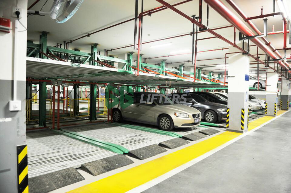 PUZZLE PARKING SYSTEM <br /> (BACK CANTILEVER)